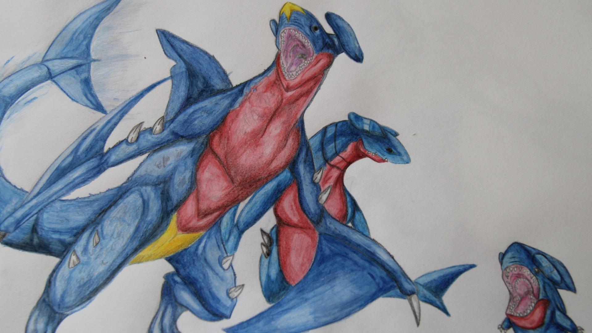 garchomp, pokemon