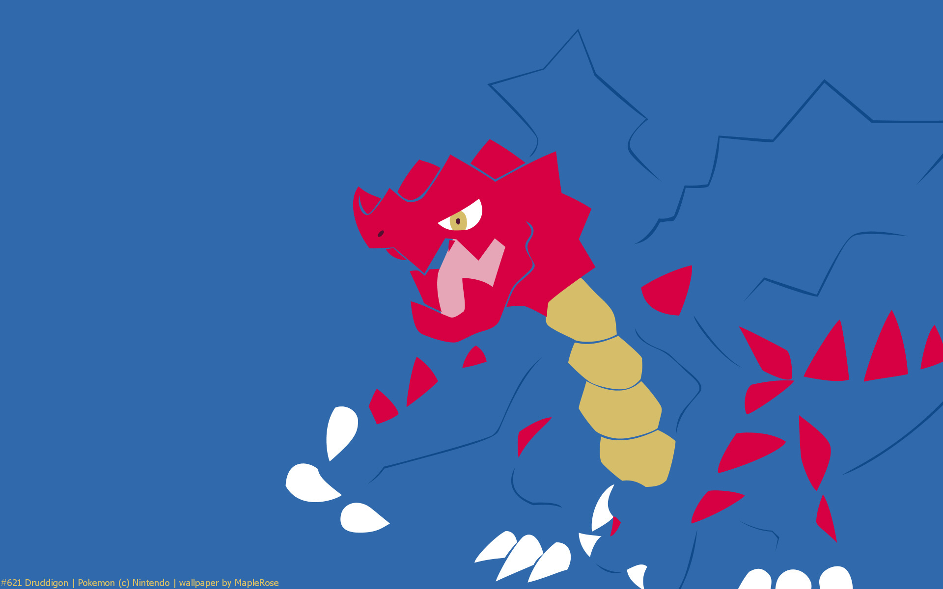 pokemon, druddigon