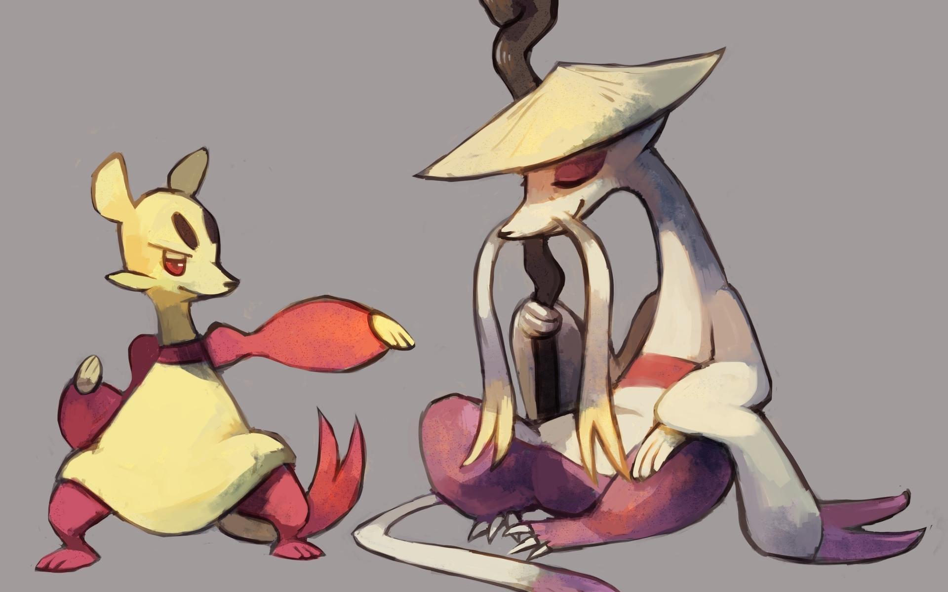 mienfoo, pokemon