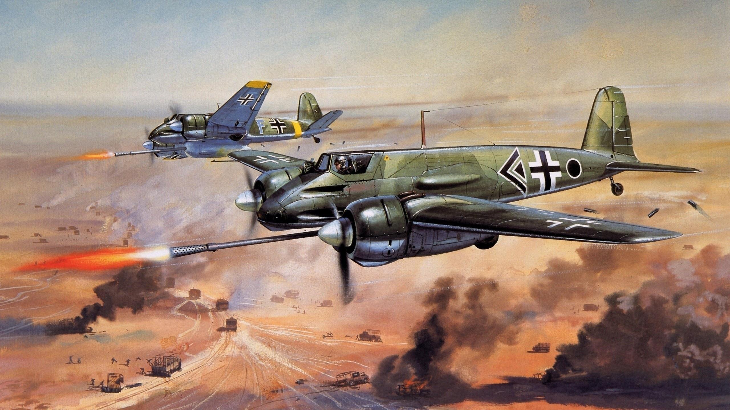 оружие, искусство, самолёт, немецкий