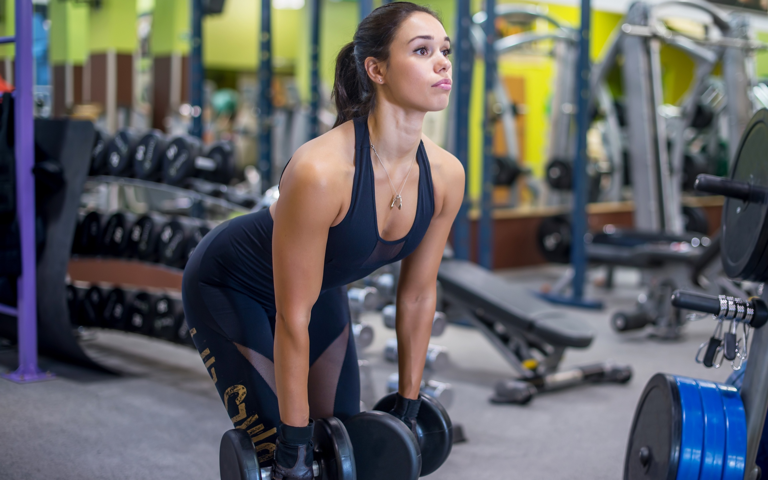 девушка, спорт, фитнесс