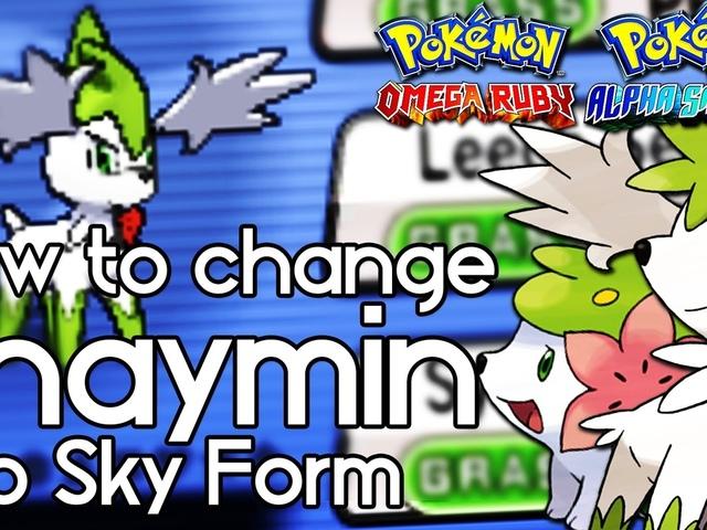shaymin, pokemon