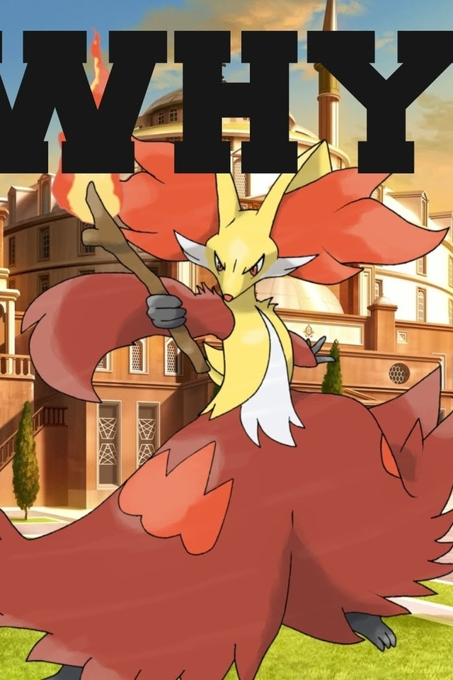 pokemon, delphox