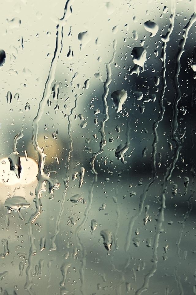 дождь, стекло