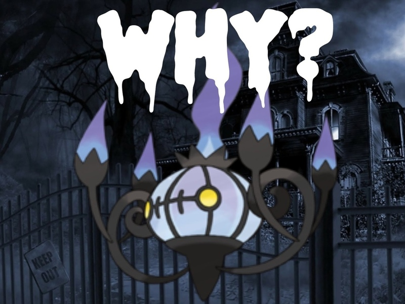 pokemon, chandelure