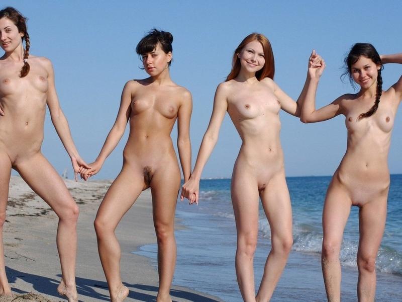 девушки, голые, киски, лобок, груди, ляжки