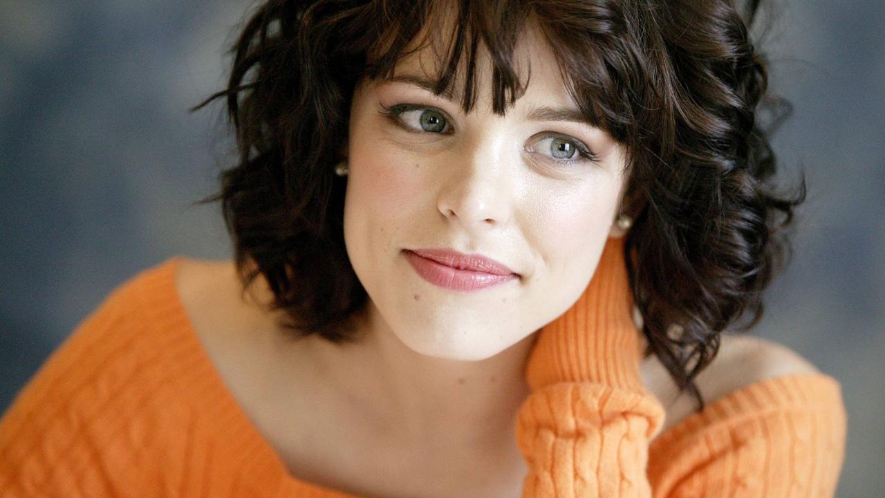 рэйчел макадамс, rachel mcadams, актриса, взгляд, знаменитости, милая, красотка, улыбка, брюнетка, в свитере, личико