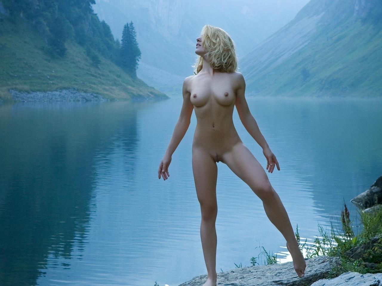 девушка, красивая, киска, грудь, ножки, голая, сиськи