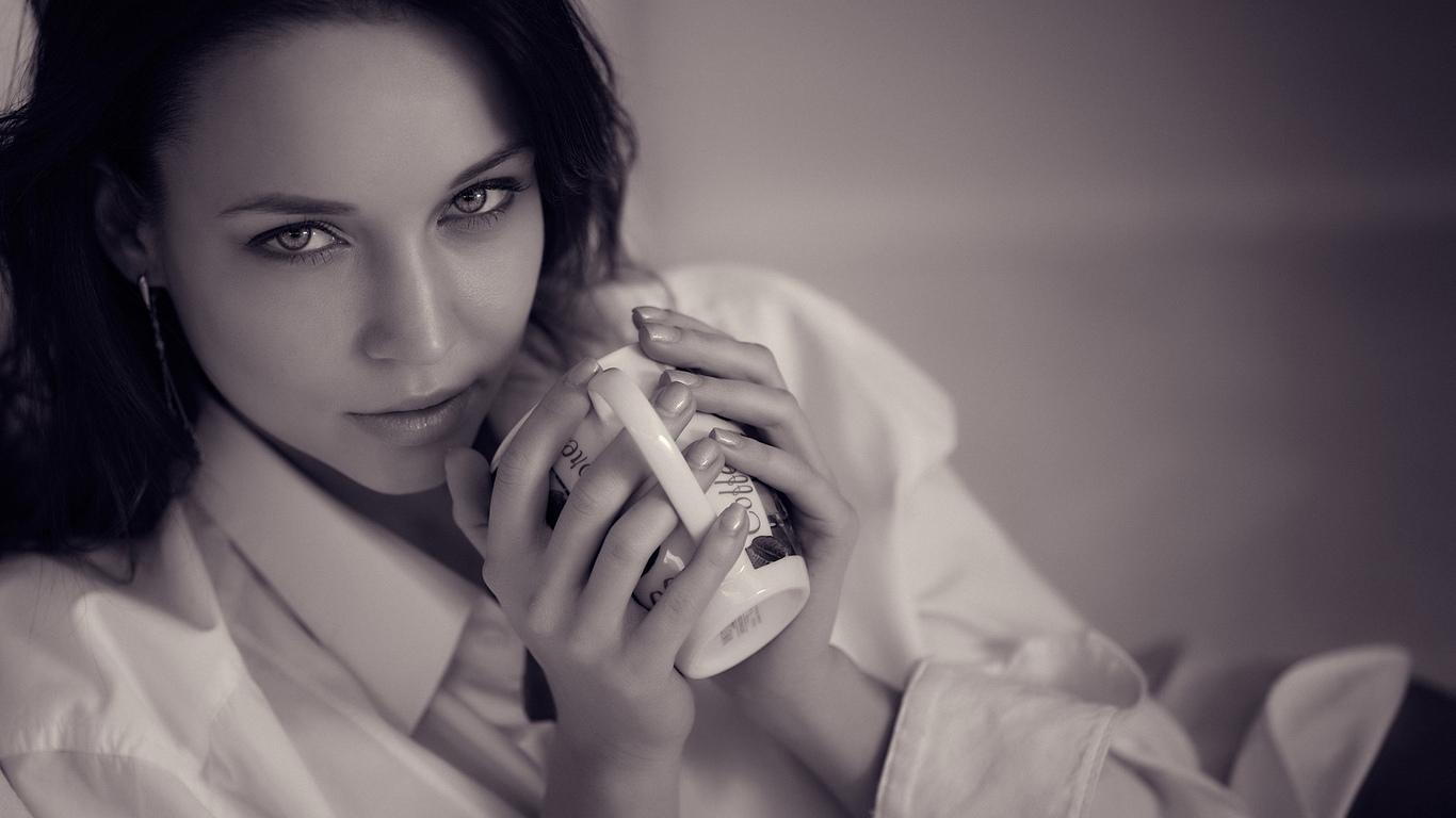 девушка, модель, позирует, ангелина