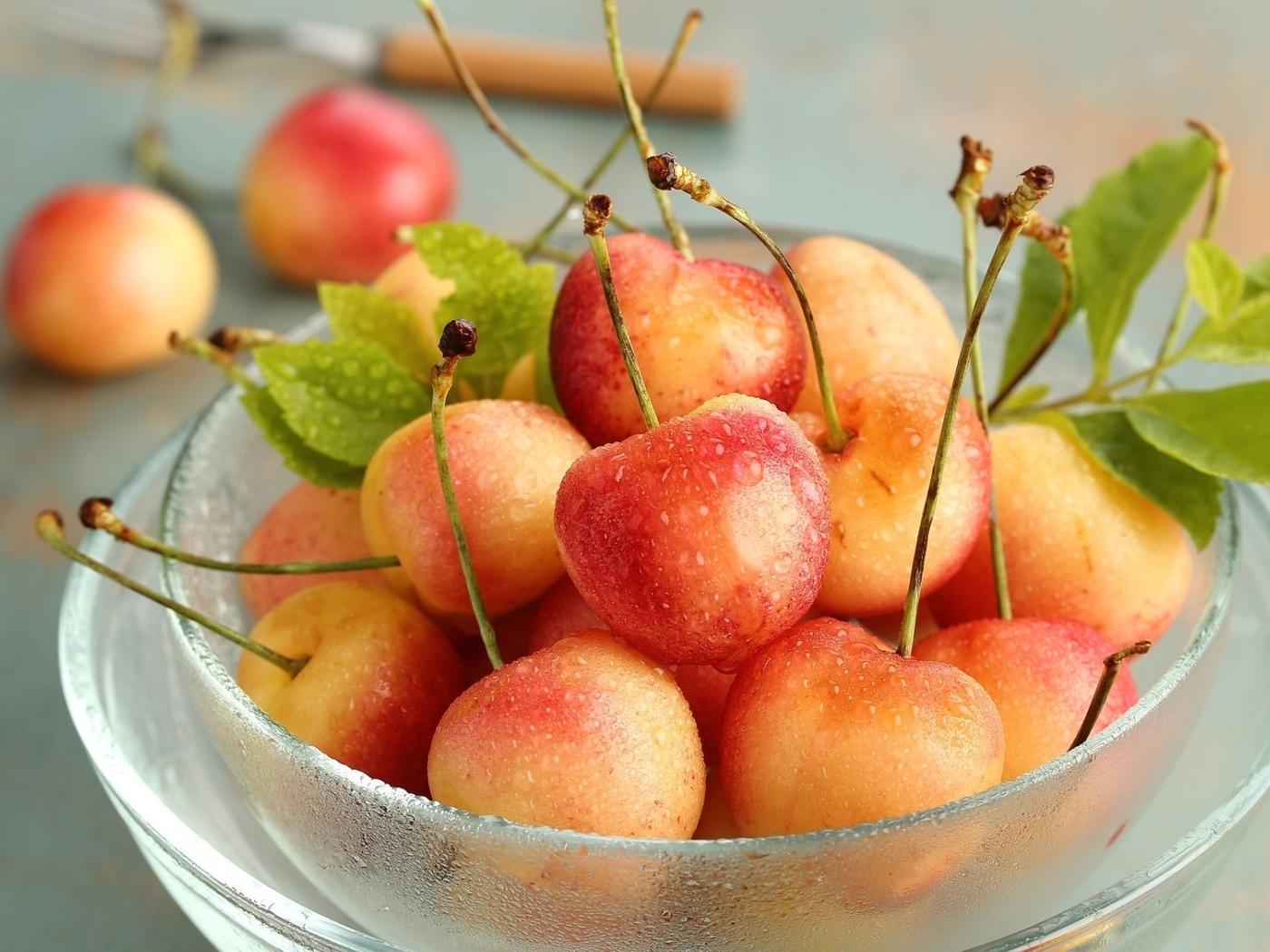 черешня, фрукты, вкусно, чашка, смак, аппетитно, аромат