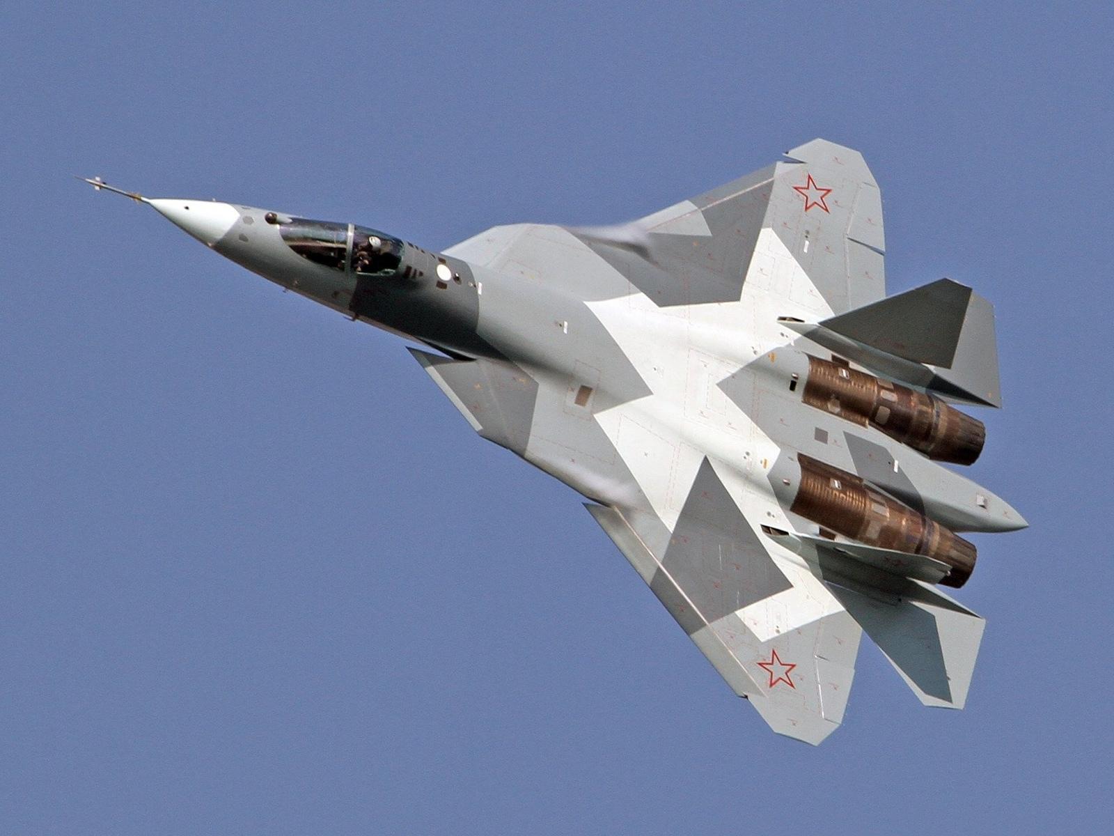 т 50, истребитель 5 го поколения, военная техника, мощь, полёт, истребитель