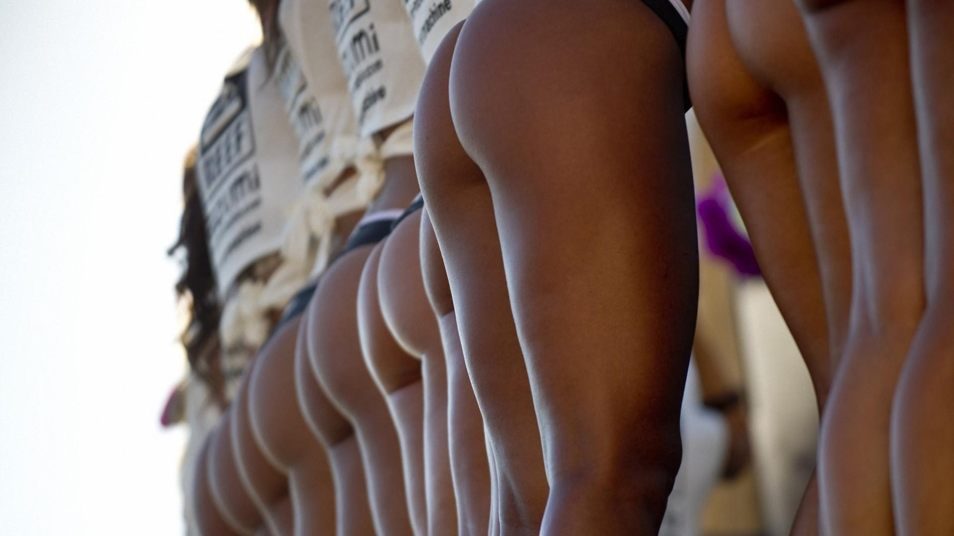 девушки, модели, позируют, в белье, попки, teef, конкурс