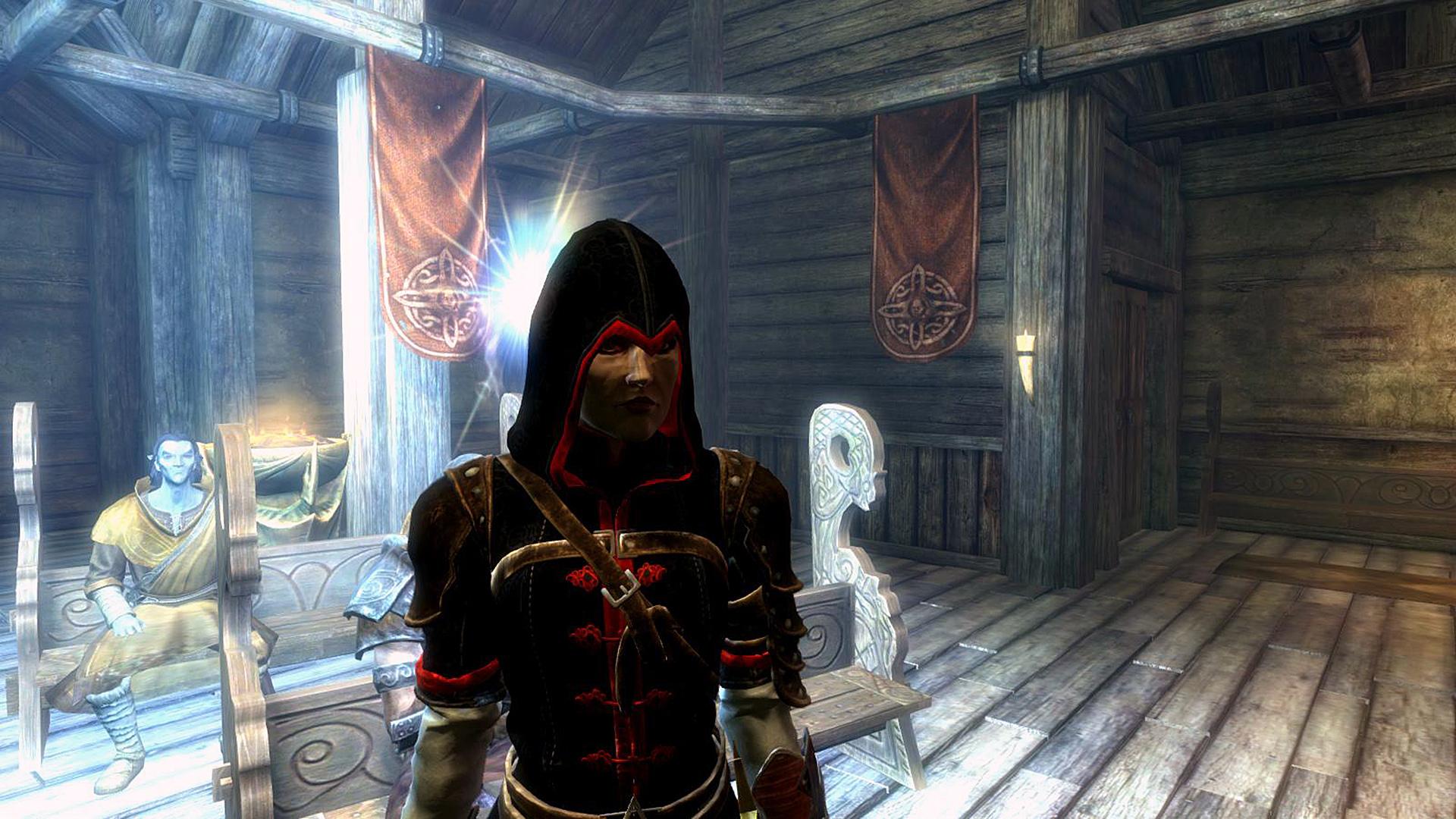 skyrim, скриншот, лицо