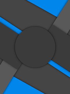андроид, круг, линии