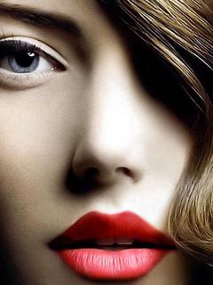 лицо, взгляд, красивая, волосы
