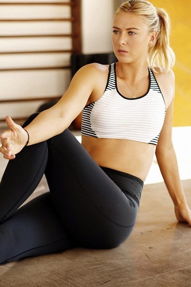 девушка, модель, спорт, спортсменка