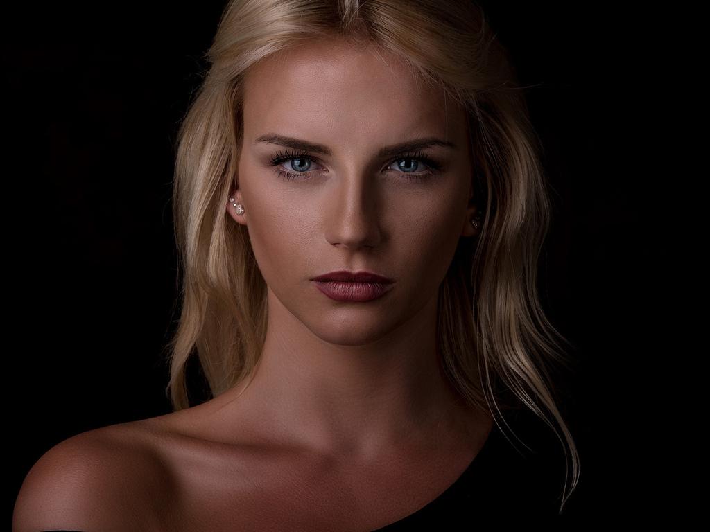 женщины, блондинка, модель