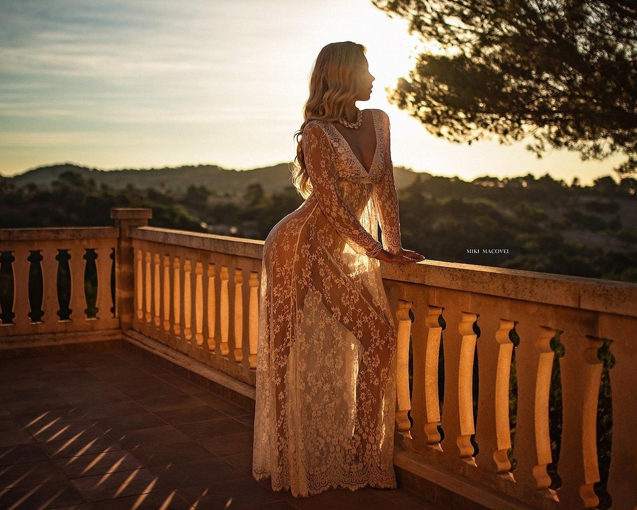 девушка, модель, позирует, в платье, проф фото