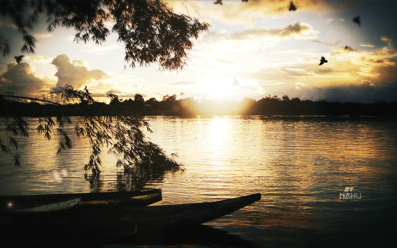 река, природа
