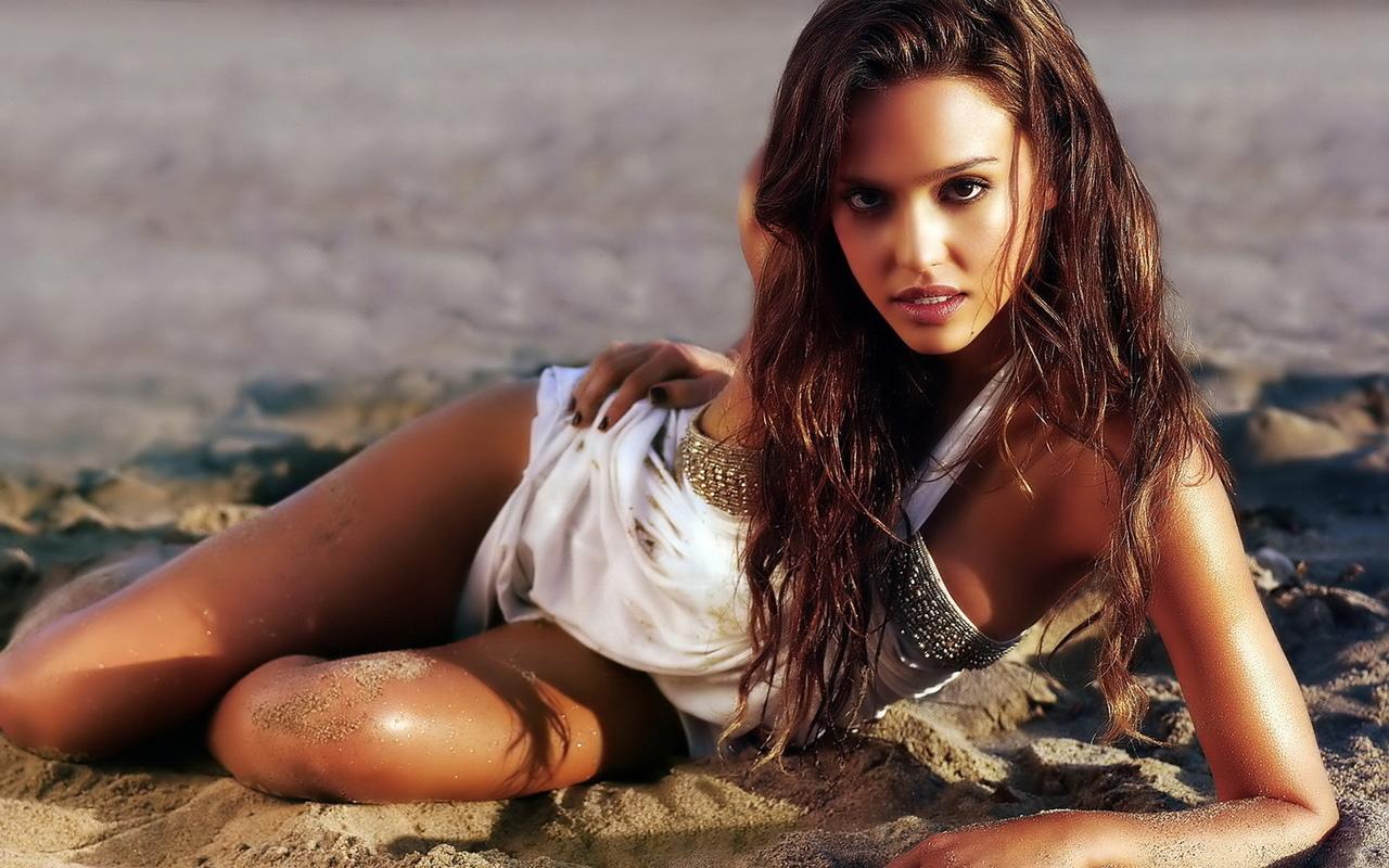 jessica alba, эротическая, сексуальная, ню, пляж, сексуальная