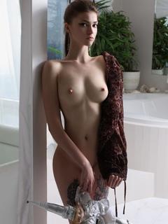 женщины, модель, комната