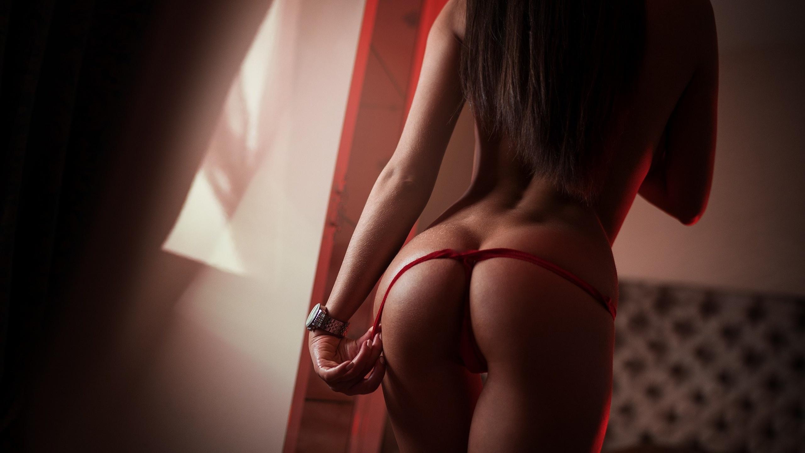 девушка, сексуальная, трусики, попа, зад, ягодицы, попка, задница, красивые булочки